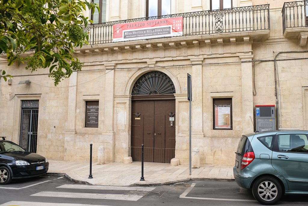 Mudias Palazzo Settanni a Rutigliano
