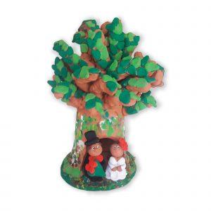cuore d'argilla - fischietto albero